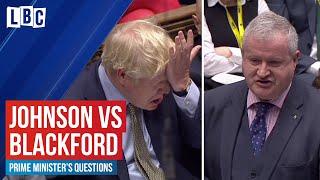 Boris Johnson v Ian Blackford on the Scottish Referendum   House of Commons