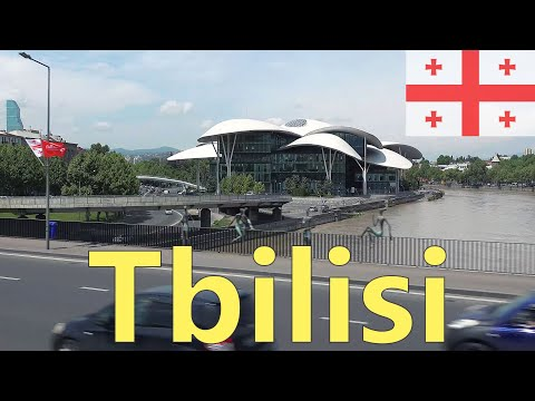Tbilisi. The Capital of Georgia 4K. City, Sights and People