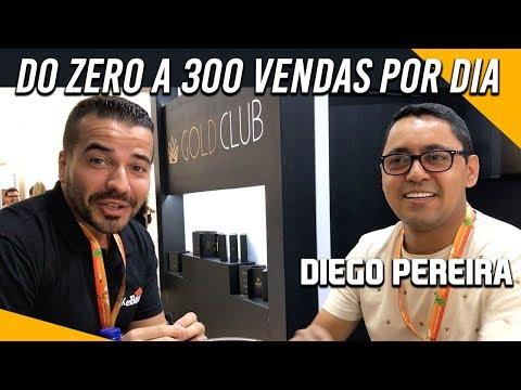 💰 Do ZERO a 300 VENDAS DIA  Saiba TUDO  Entrevista com Diego Pereira