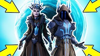 Fortnite Ice Storm Event! ICE Queen & King!