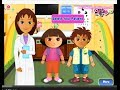 Dora Explorer Free Online Games - Dora and Diego At The Eye Clinc