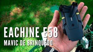 REVIEW DRONE DOBRÁVEL EACHINE E58 - BANGGOOD