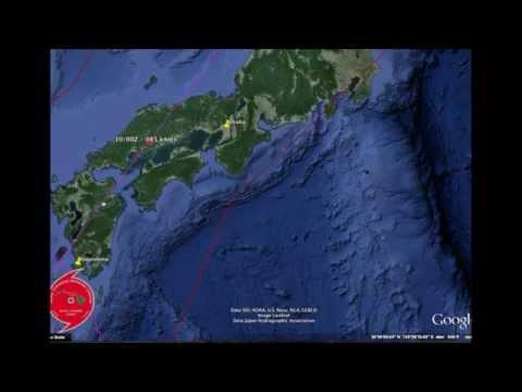 Typhoon Neoguri Nears the Southern Japanese Islands. Monday Update