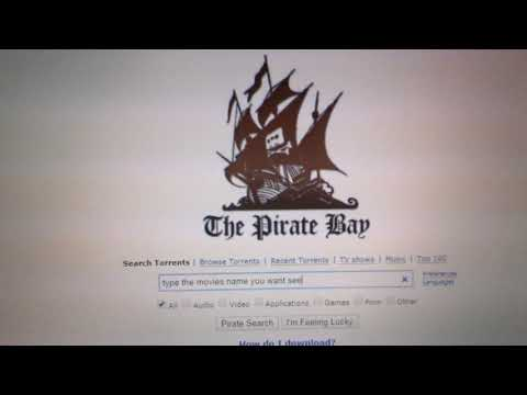 how to download movies from pirates bay...
