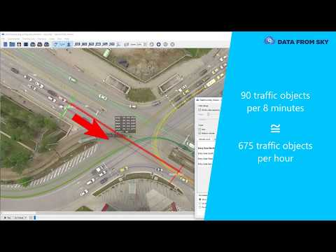 PTV Vissim – How to import real-world traffic data from Data