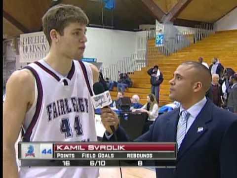 Fairleigh Dickinson-Monmouth Men's Basketball Game ...