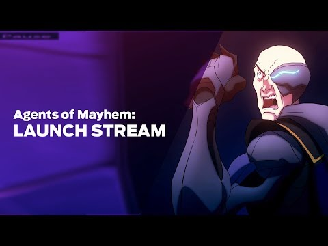Let's Play Agents of Mayhem Part 1
