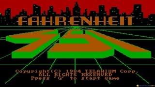 Fahrenheit 451 gameplay (PC Game, 1984)