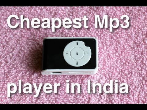 Cheapest Mp3 player in India