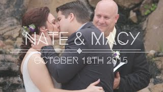Nate & Macy Wedding - October 18th 2015 [Dove Canyon Courtyard, CA]
