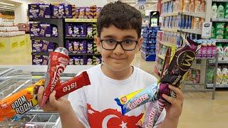 Buğra Marketteki Algida Twister Magnum Cornetto Dondurma Çesitlerinin Hepsini Aldı.