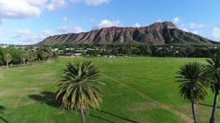 Around Oahu by drone 4k