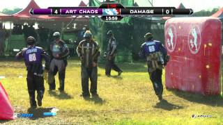 PSP World Cup Paintball Finals - Tampa Bay Damage vs. Art Chaos 2014 PSP World Cup - Sunday Game 11