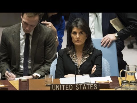 UN Security Council Isolates the US on Jerusalem