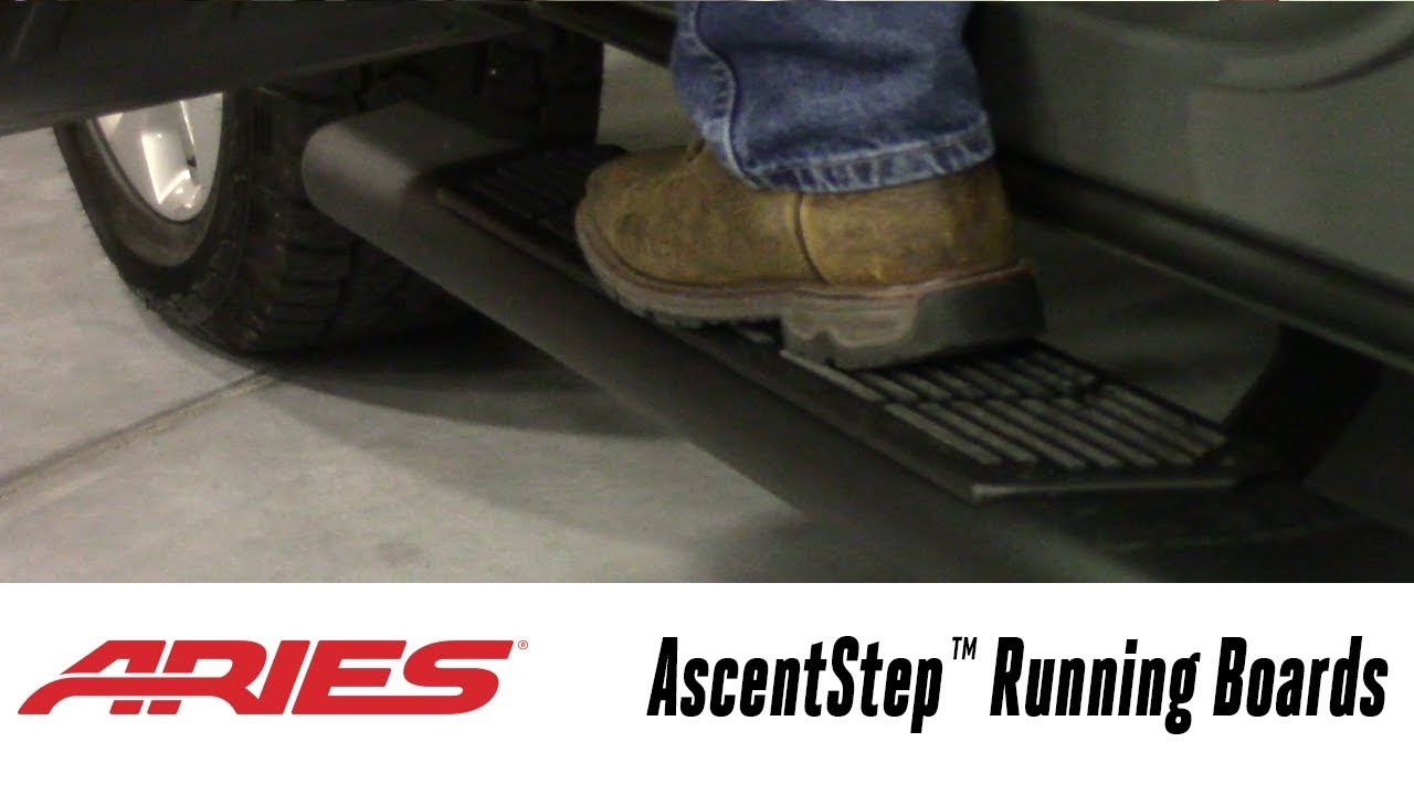 In the Garage™ with Total Truck Centers™: ARIES AscentStep™ Running Boards