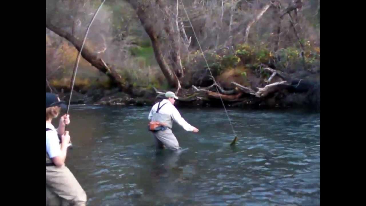 fly fishing putah creek 12 22 09 youtube
