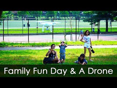 Family Fun Day Pelham Bay Park Playground The Bronx - Running - Exercise - Flying Drone & Ice Cream