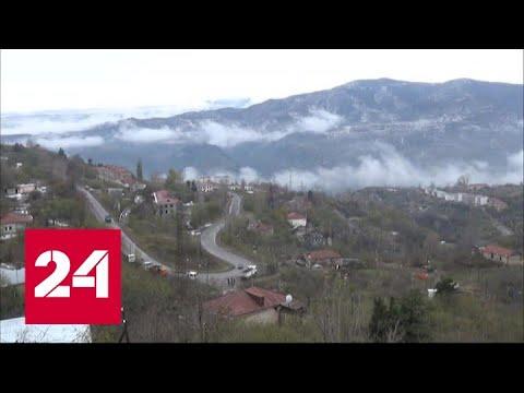 Нагорный Карабах: войска Азербайджана вошли в Лачинский район - Россия 24
