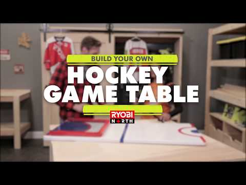 RYOBI North DIY Hockey Game Table