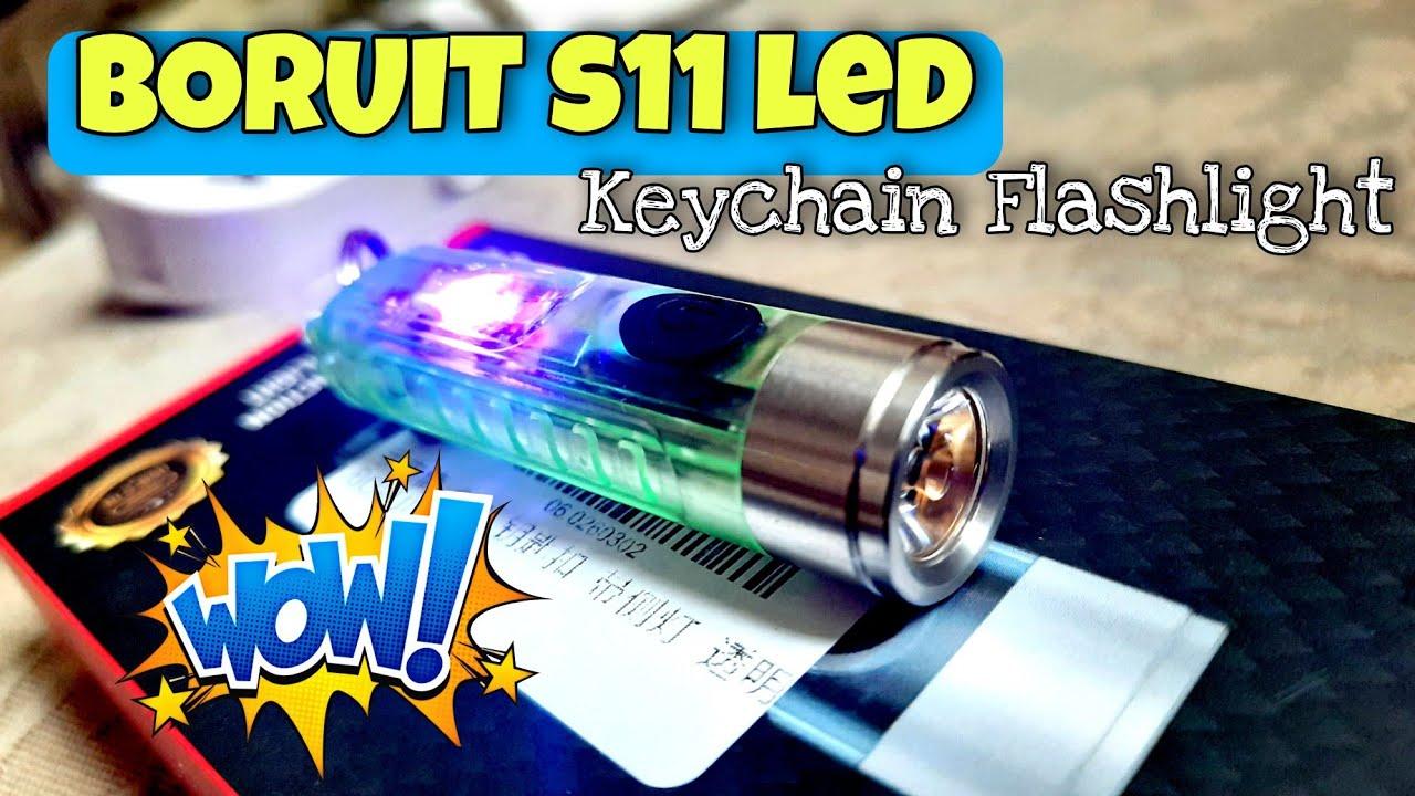 UNBOXING - BORUIT S11 LED KEYCHAIN FLASHLIGHT