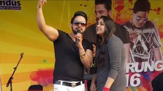 Mombatiye   Zohaib Amjad ft. Raftaar live performance   Biggest Punjabi Song 2016