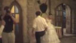 Свадьба Коли и Валюшки (подвязка)