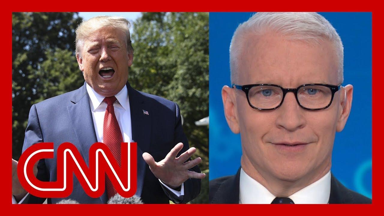 """CNN:Cooper counts Trump's flip-flops: """"Buckle up"""""""