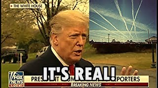 Donald Trump - Chemtrails & radiation in the water is real!