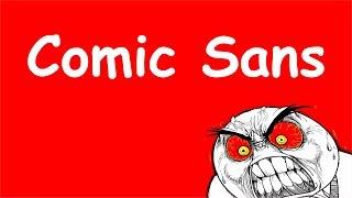 Знаешь, почему дизайнеры не любят шрифт Comic Sans? Открываю тайну!