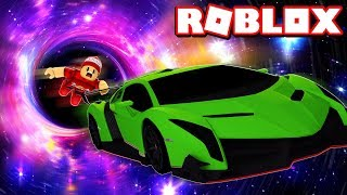 MY CAR WAS SWALLOWED BY a BLACK HOLE in ROBLOX → Car Crushers 2 🎮
