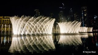 Amazing Dubai Fountain at Burj Khalifa Dubai Mall