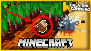 Minecraft: Haunted House with Only One Command!