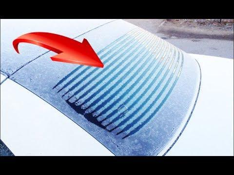 Как восстановить нити обогрева заднего стекла своими руками