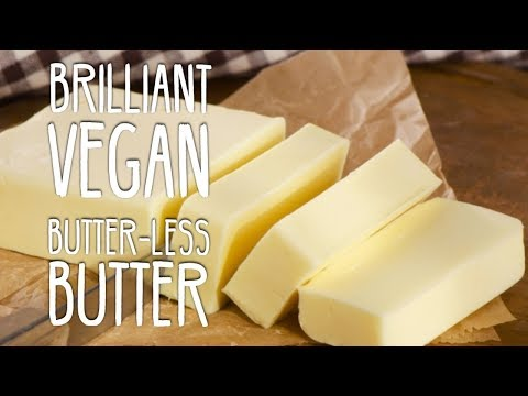 Vegan Butter-less Butter | How To Make Vegan Butter