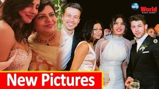 Priyanka & Nick Jonas Unseen Wedding Pics: PC poses with Game of Thrones star Sophie & her mother