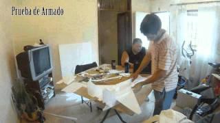 Timelapse Armado Mig29 Foam