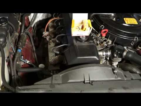 How to replace spark plugs Mercedes Benz. Engine type M103 or M104