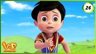 Vir: The Robot Boy | The Lady Jinn Part - 1 | Action Show for Kids | 3D cartoons