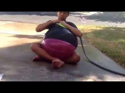 Water balloon crap