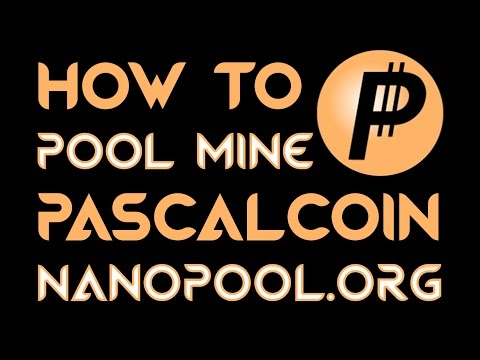 How To POOL MINE PASCAL COIN on NANOPOOL.ORG & a POLONIEX EXCHANGE ACCOUNT AMD GPU Windows