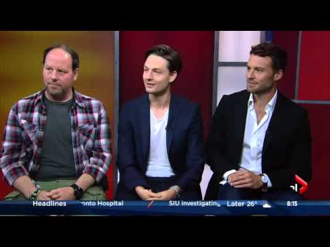 Matt Gordon,Gregory Smith,and Peter Mooney  on the GlobalTV Morning