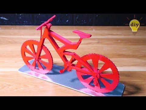 DIY Bicycle Cardboard | DIY Paper Cycle - Very Simple