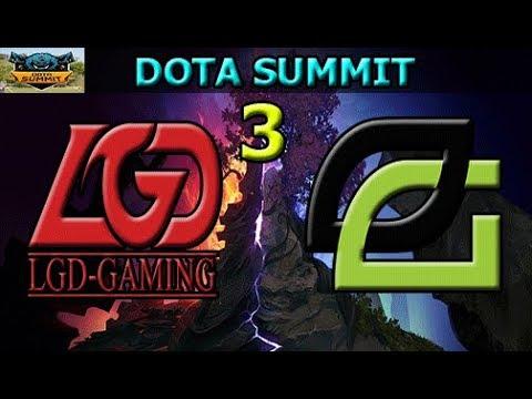 LGD vs Optic Gaming Game 3 | Group Stage | Dota Summit 8