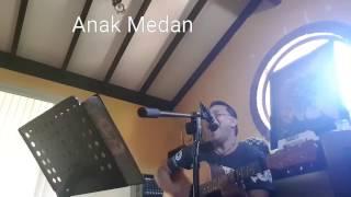 Anak Medan Cover Rock n Roll - Batak Akustik 2017