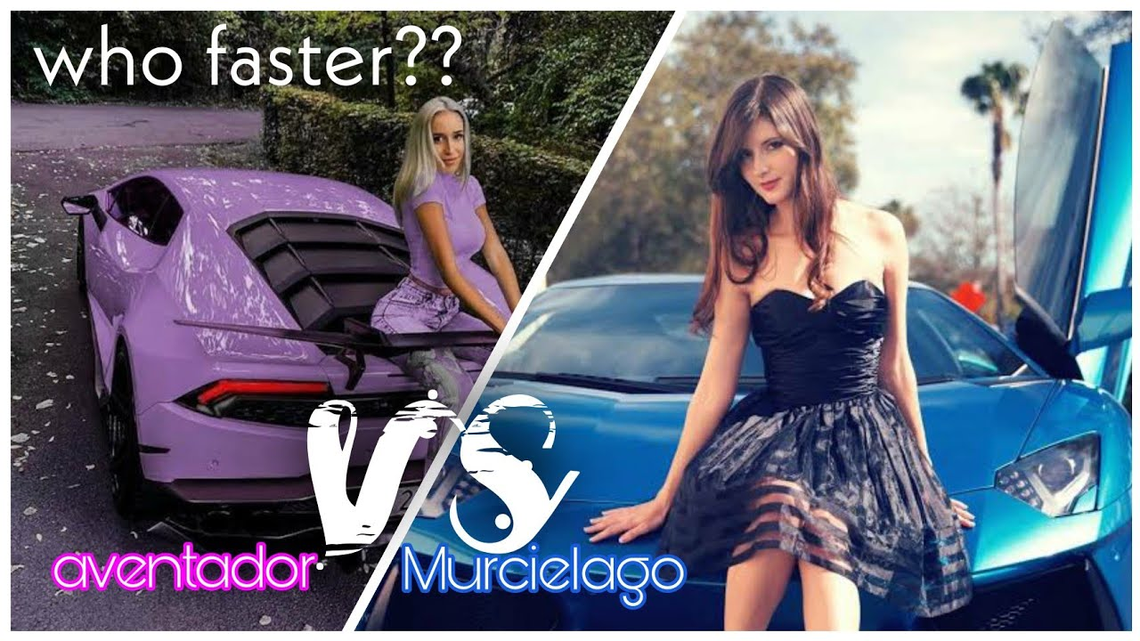 Purple Lamborghini Aventador Lp760 Vs Blue Lamborghini Lp640 Youtube