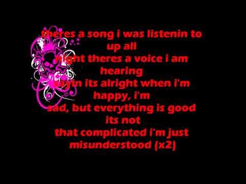 misunderstood by pink lyrics