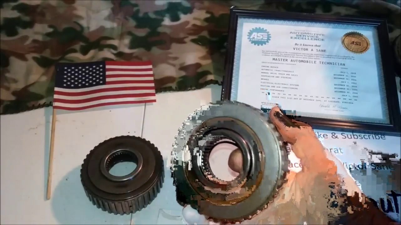 transmission parts id 4l60e forward sprag differences interchange episode 002 no 3rd or 4th gear [ 1280 x 720 Pixel ]