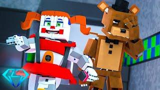 Minecraft FNAF 7 Pizzeria Simulator - Baby's Adventure!?