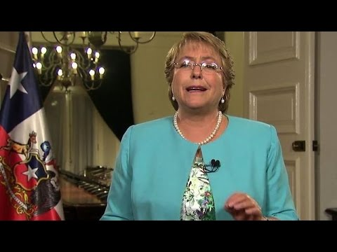 Chile President Bachelet announces new constitution draft