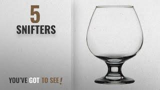 Top 10 Snifters [2018]: Pasabahce Bistro Cognac Brandy Glass, 395 ml,Set of 6